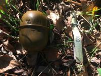 В Запорожье возле отеля нашли гранату