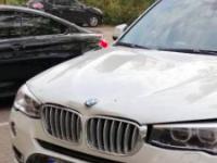 Запорожанка врезалась на BMW в стену, перепутав педали