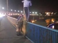 В Запорожье мужчина пытался покончить с собой, прыгнув с Днепрогэса
