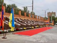 В Запорожье открыли уникальный памятник старинному армянскому алфавиту (Фото)