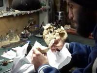 Запорожский скульптор восстанавливает лицо найденной на раскопках амазонки (Видео)