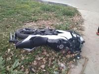 В Запорожье столкнулись «Шевроле» и мотоцикл: есть пострадавшие (Фото)