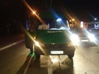 Водитель запорожской маршрутки сбил пешехода (Фото)