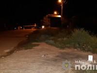 Военный бросил в компанию гранату – двое пострадавших (Видео)