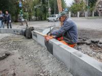 Реконструкция проспекта Маяковского затягивается – подрядчика накажут (Фото)