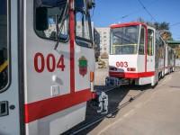 Блестят, как новая копейка: вышли на маршрут закупленные в Европе трамваи (Фото)