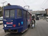 Возле запорожского автовокзала трамвай зацепил женщину