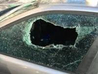 Пешеход разбил авто, которое его обрызгало