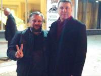 Известный краевед провел экскурсию по Запорожью президенту европейской страны