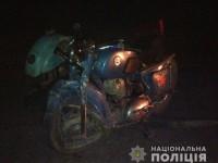 На дороге в запорожском селе столкнулись мотоцикл и микроавтобус: один из водителей в реанимации