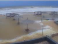 Из-за шторма в Кирилловке затопило 40 баз