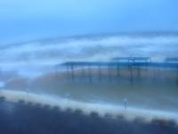 Зимний шторм уничтожает базы отдыха и пляжи Кирилловки (Фото, видео)