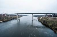 Строительство запорожских мостов не возобновится раньше, чем через год
