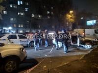 В центре Запорожья заметили скопление машин и полиции (Фото)