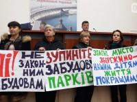 На сессии Запорожского горсовета объявили перерыв из-за разгоревшегося земельного скандала