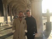 Запорожская чиновница побывала на съемках нового клипа Монатика в Венеции (Фото)
