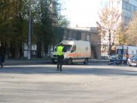 В Запорожье сбили мотоциклиста — пострадавшего госпитализировали (Фото)