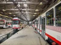 В Запорожье продолжают собирать новые трамваи