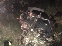 В ДТП под Мелитополем спасатели вырезали тело погибшего водителя из смятого авто (Фото)