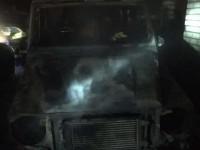 На стоянке в спальном районе Запорожья сгорели сразу четыре авто