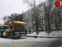 В Запорожской области замерзают турецкие дорожники