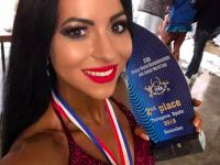 Спортсменка из Запорожской области стала второй на чемпионате мира по бодибилдингу и фитнесу