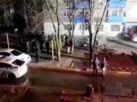 Взорвался и загорелся: в запорожском дворе не стало «Ланоса»