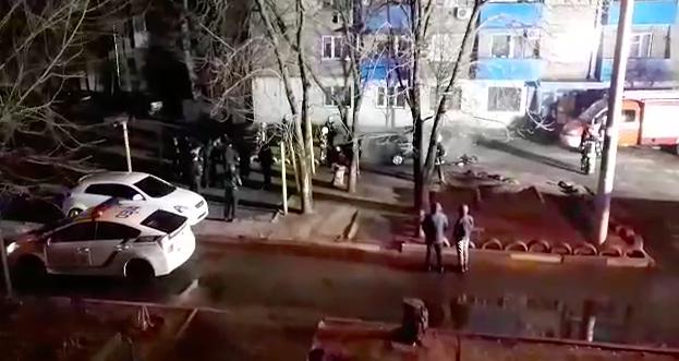 """Взорвался и загорелся: в запорожском дворе не стало """"Ланоса"""""""