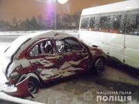 В смертельной аварии с запорожской маршруткой пострадали пять пассажиров
