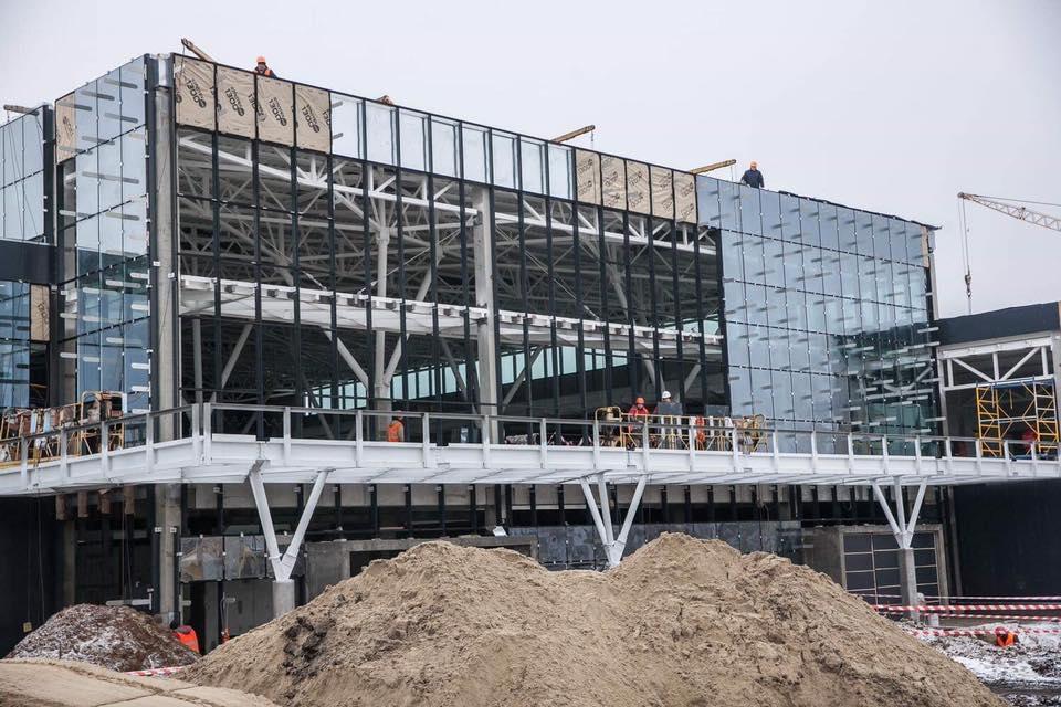 В Запорожье продолжают строительство терминала: что успели сделать (Фото)