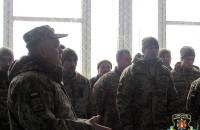 Запорожские военнообязанные отправились на учения