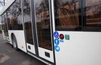 В Запорожье приехала первая партия вместительных автобусов (Фото)