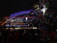 «Елочка, гори»: в Запорожье зажгли новогодние огни (Фото)