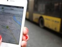 За общественным транспортом в Запорожье можно следить через специальное мобильное приложение