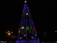 Празднования Нового года возле главной запорожской ёлки не будет