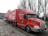 В Запорожье приедет тот самый праздничный грузовик «Coca-Сola»