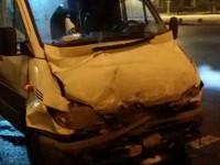 В аварии с маршруткой и автобусом пострадали 4 человека
