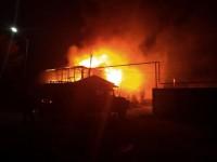 В запорожском селе пара сгорела из-за курения в постели