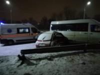 В ДТП с запорожской маршруткой и легковым авто погиб ребенок (Фото)