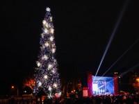В новогоднюю ночь на главной площади Запорожья не будет праздничного концерта