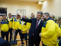 Порошенко подвел итоги своего года в фото: в кадр попал запорожский спортсмен