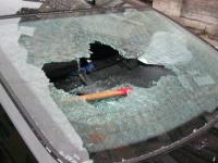 Машину запорожца обворовали на Хортице возле ресторана