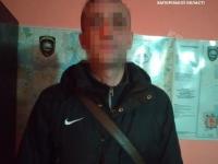 Под Запорожьем задержали водителя «Спринтера» под наркотиками