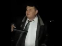 На блокпосту в Запорожской области задержали заместителя главы райсовета по подозрению в пьяной езде (Видео)