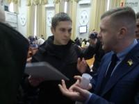 На сессии горсовета прокурор Запорожской области лично огласил депутату подозрение (ВИДЕО)