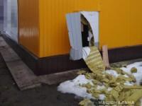 В Запорожской области грабители выломали стену в магазине и вынесли полмиллиона