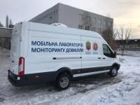 В Запорожье начала работать передвижная лаборатория экомониторинга