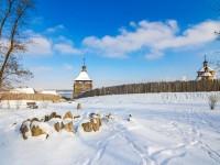 «СНежность»: на Хортицу пришла зима (Фото)