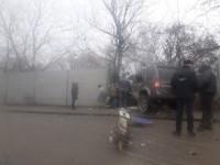 Снесли столб и протаранили забор: на Хортице случилась масштабная авария (Фото)