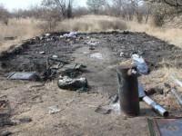 Суд оштрафовал военного, который сжег палатку, растапливая печь